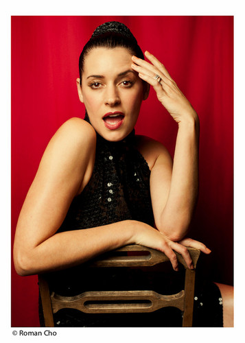 Paget Brewster kertas dinding called Paget Brewster