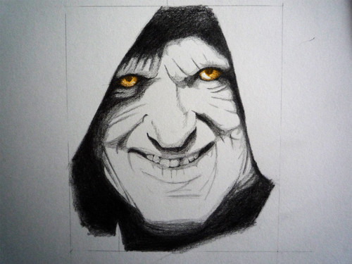 Palpatine Portrait - star-wars Fan Art