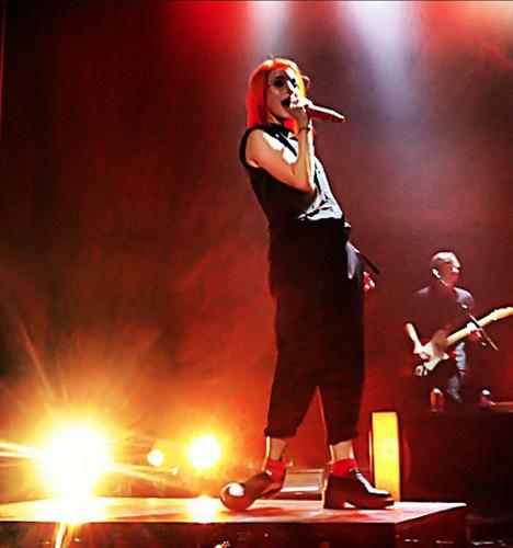 Paramore live in Pomona
