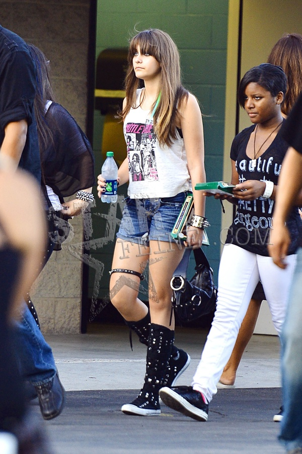 Paris Jackson at the concert in Irvine, CA NEW August 14th