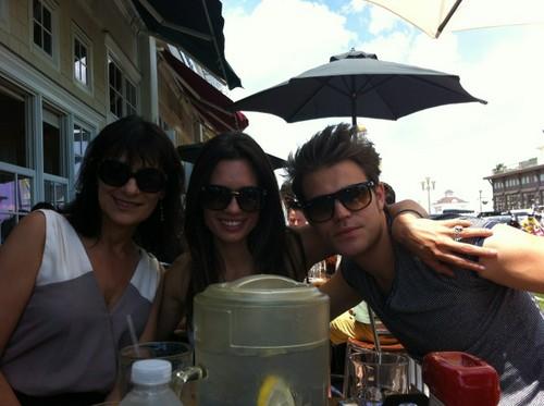 Paul, Torrey and his mom Mrs. Agnieshka Wasilweski