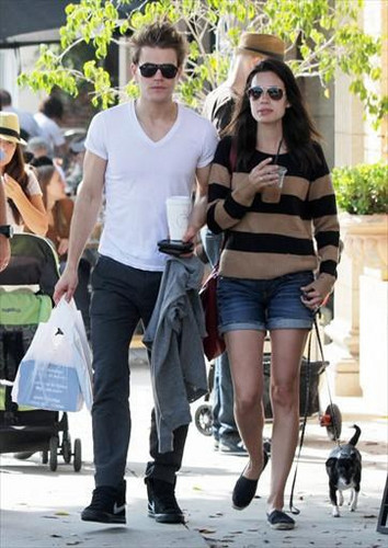 Paul and Torrey in Larchmont Village (2011)