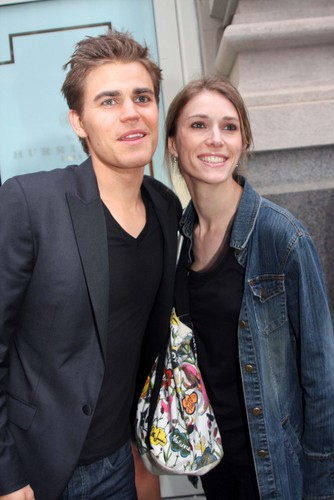 Paul and his sister Monika: CW Upfront - After Party (2011)