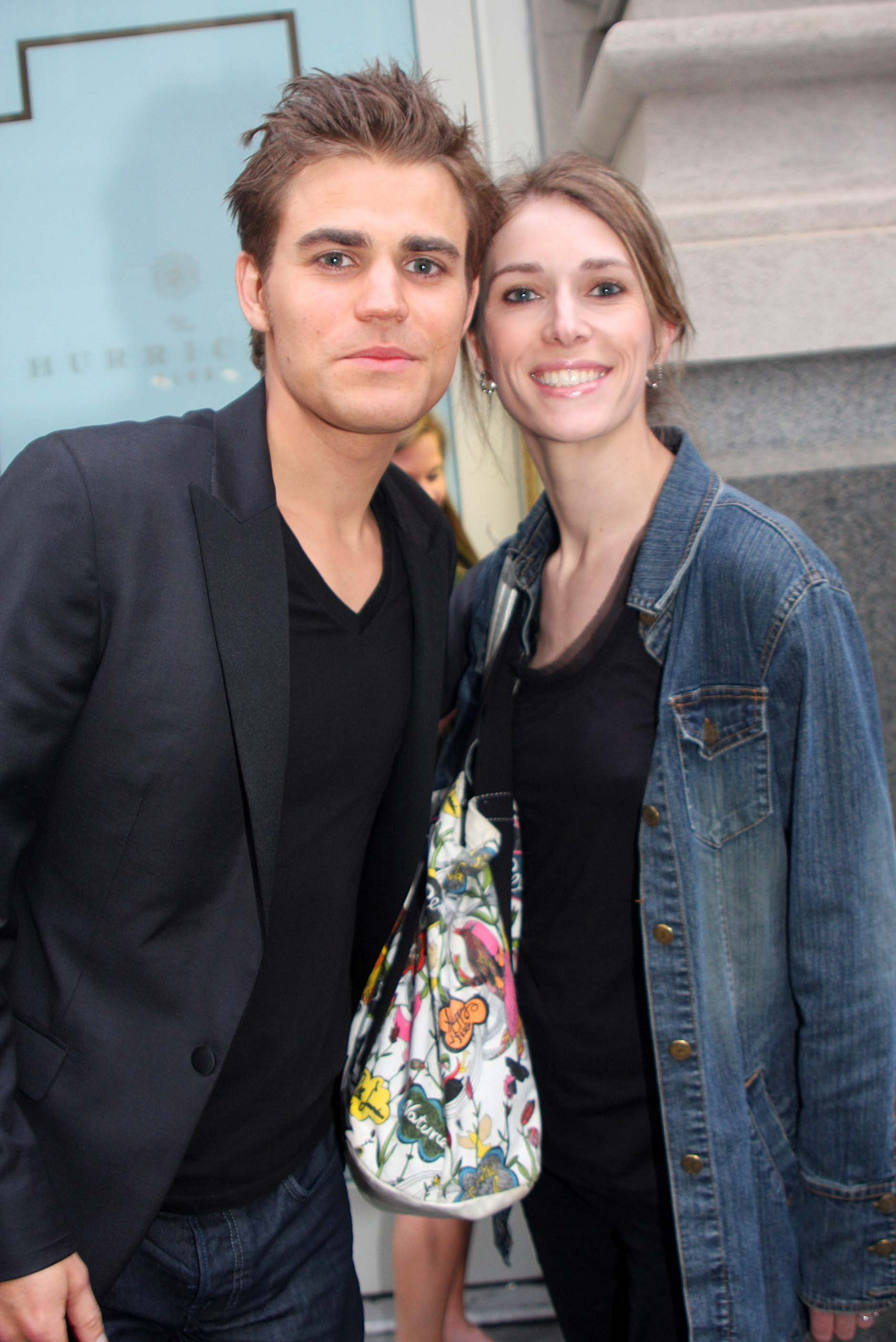 Paul and his sister Monika: CW Upfront - After Party (2011 ...