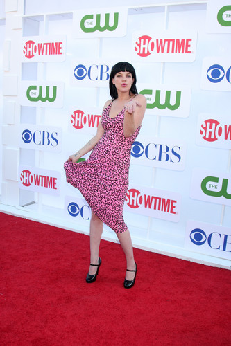 Pauley Perrette - CW, CBS and Showtime Summer TCA Party (2012.07.29.)