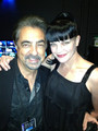 Pauley Perrette at Teachers Rock