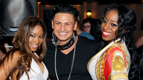 Pauly D,Naomi,and Cameron
