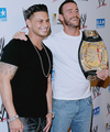 Pauly D and CM Punk - jersey-shore photo