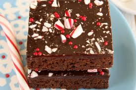Peppermint Browniess