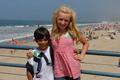 Peyton Santa Monica Beach
