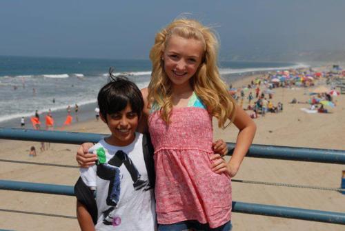 Peyton Santa Monica spiaggia