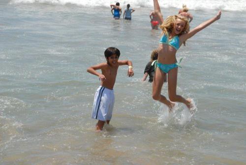Peyton Santa Monica bờ biển, bãi biển