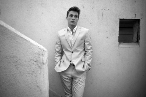 Colton Haynes wallpaper with a business suit, a suit, and a well dressed person called Photoshoot