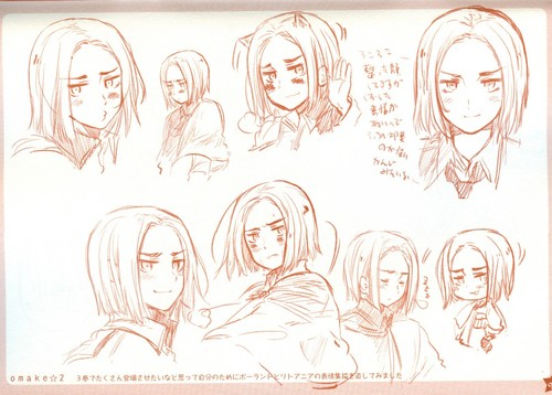 Hetalia Poland wallpaper possibly with a sign entitled Poland Sketches by Hima-papa