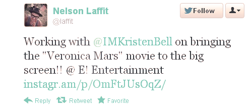 Possible Veronica Mars Movie :O