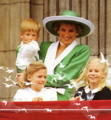 Princess Diana and Prince Harry