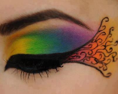 arc en ciel make-up