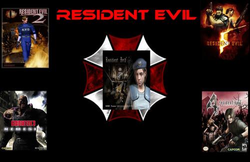 Resident Evil fondo de pantalla