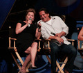 Robert Beltran and Kate Mulgrew - ST Las Vegas Convention 2012