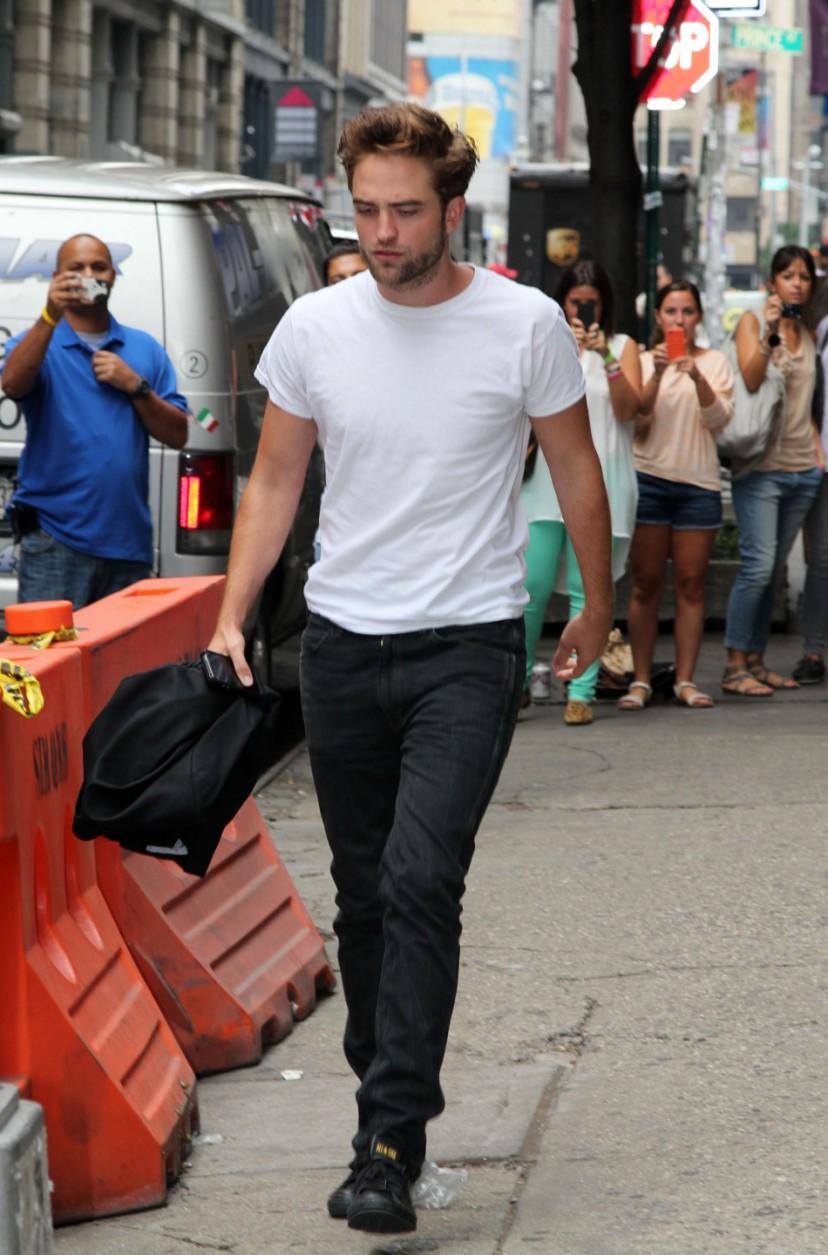 Robert Pattiinson NY, 14-08-2012