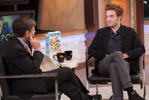 Robert Pattinson in Good Morning America