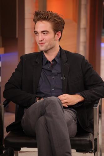 Robert Pattinson in Good Morning America