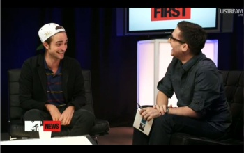 Robert on MTV - robert-pattinson Photo