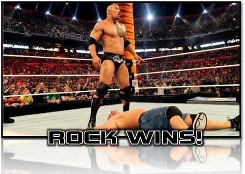 Rock wins!