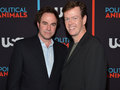 Roger Bart and Dylan Baker @ the Political Animals Red Carpet Premiere