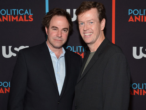Roger Bart and Dylan Baker @ the Political Животные Red Carpet Premiere