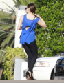 Rose - Arriving at a hotel in Century City, California - August 09, 2012 - rose-mcgowan photo