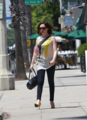 Rose - Braves the record heat wave temps in LA - August 13, 2012 - rose-mcgowan photo