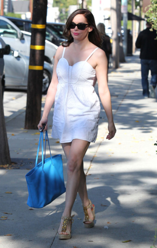 Rose - Leaves hair salon, Los Angeles - August 08, 2012