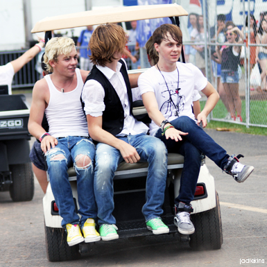 Ross, Rocky and Ellington