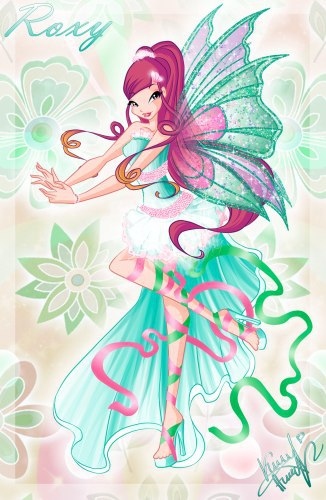 Winx Club fond d'écran entitled Roxy Harmonix