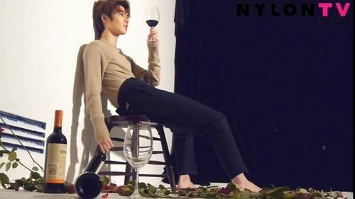 SHINee's Taemin for Nylon