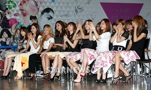 SNSD@ S.M.A.R.T exhibition  - girls-generation-snsd Photo