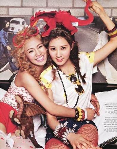 SNSD's Seohyun & Hyoyeon for Nylon - August