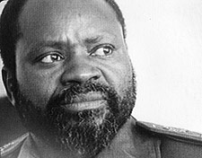Samora Moisés Machel (September 29, 1933 – October 19, 1986)