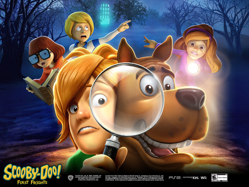 Scooby-Doo 壁紙 entitled Scooby Doo First Frights