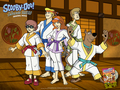 Scooby Doo &amp; The Samurai Sawd - scooby-doo wallpaper