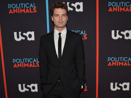 Sebastian Stan @ the Political Animals Red Carpet Premiere