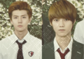 Sehun and Luhan for To The Beautiful You!
