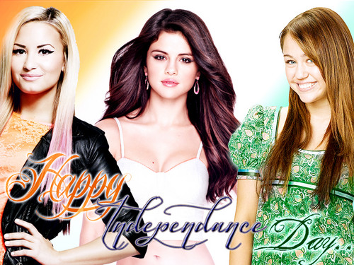 Selena Gomez Indain Independence Day 2012 special Creation by DaVe!!! - selena-gomez Wallpaper