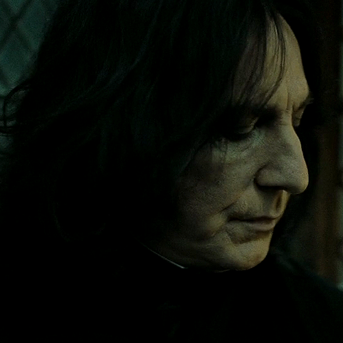 Severus  looking sexy  .