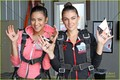 Shay went skydiving to raise monies for the Somaly Mam Foundation