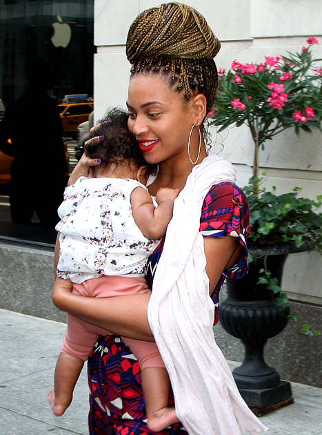 She gon be a good mother