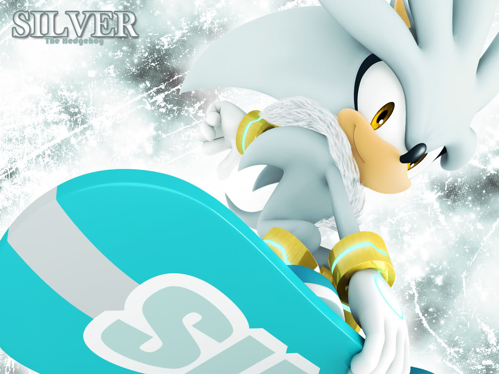 Silver the Hedgehog Silver Riders