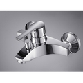 Single Handle Chrome Wall-mount Bathtub Faucet