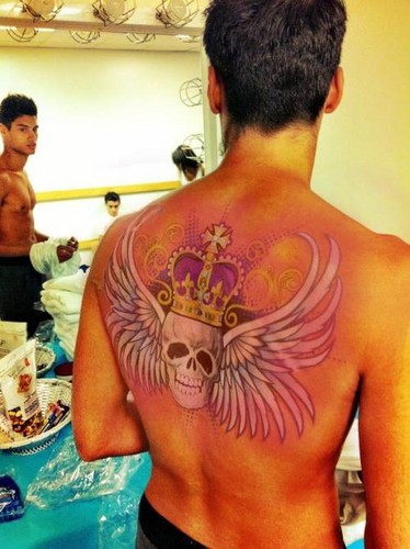 Siva with a tattoo